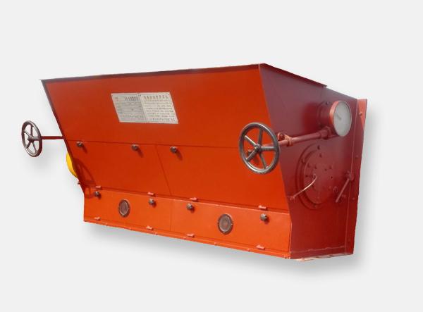 Biomass hopper